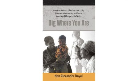 DIG WHERE YOU ARE by Nan Alexander Doyle