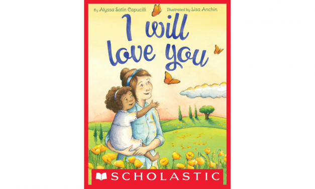 I WILL LOVE YOU illustrated by Lisa Anchin