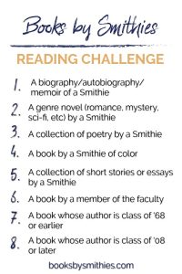 Books by Smithies 2018 Reading Challenge