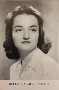 Betty Friedan college yearbook photo